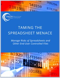 Taming the Spreadsheet Menace white paper